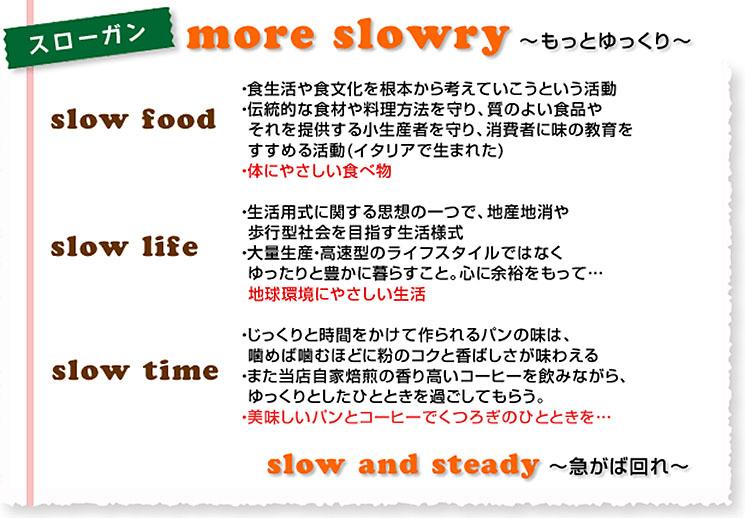 more slowly ~もっとゆっくり~